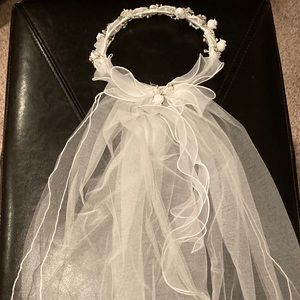 First Holy Communion veil